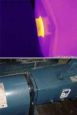 PPdM Application Thermal Image - Chiller Pump
